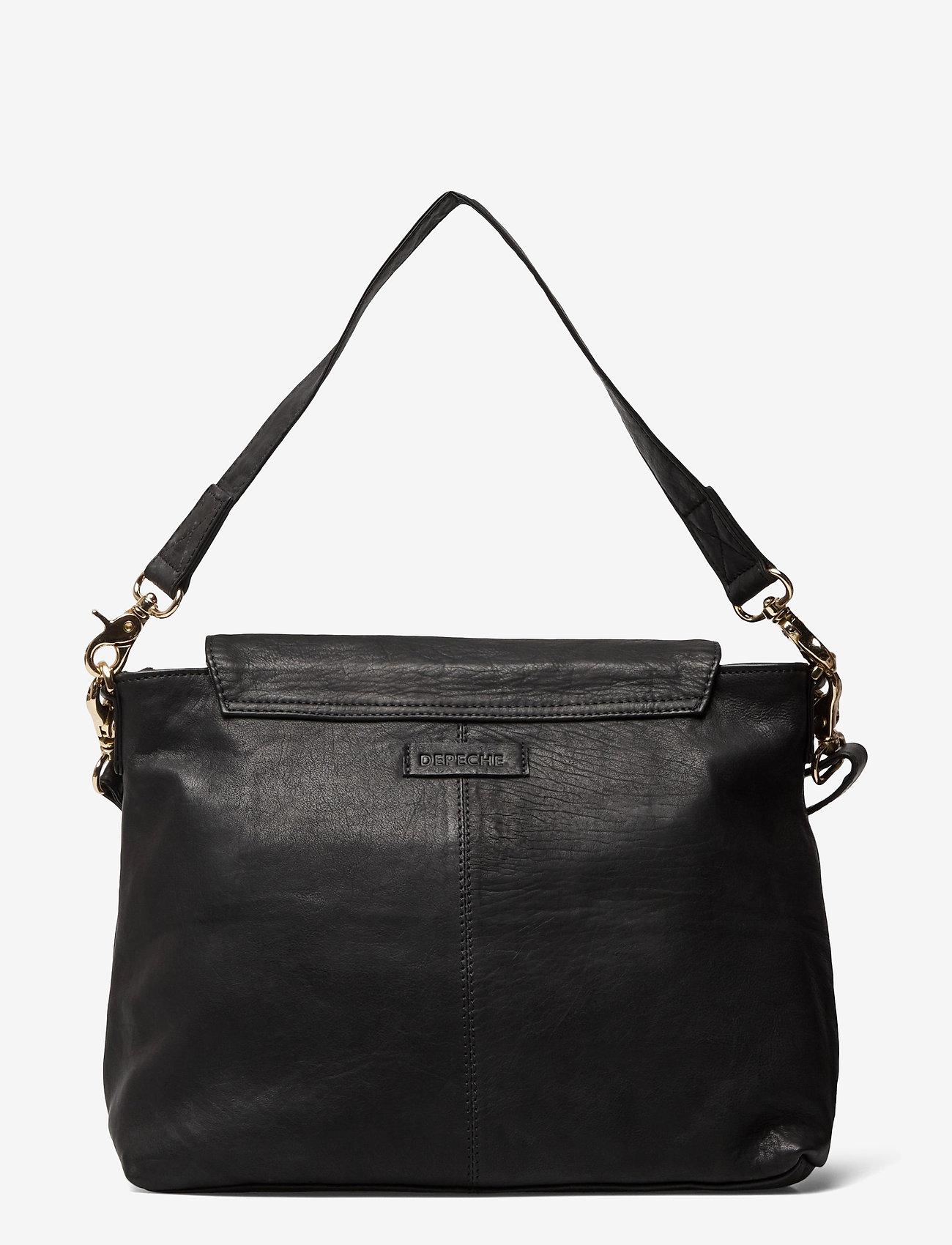 DEPECHE - Medium bag - handväskor - black - 1