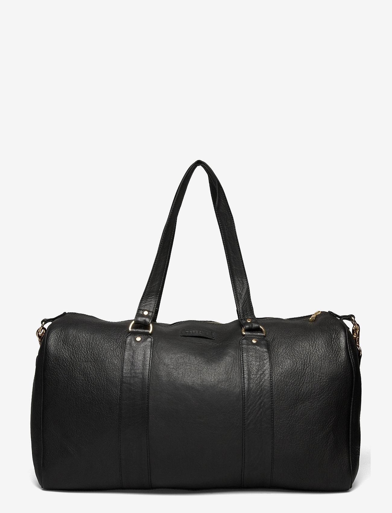 DEPECHE - Weekend Bag - weekend bags - 099 black (nero) - 1