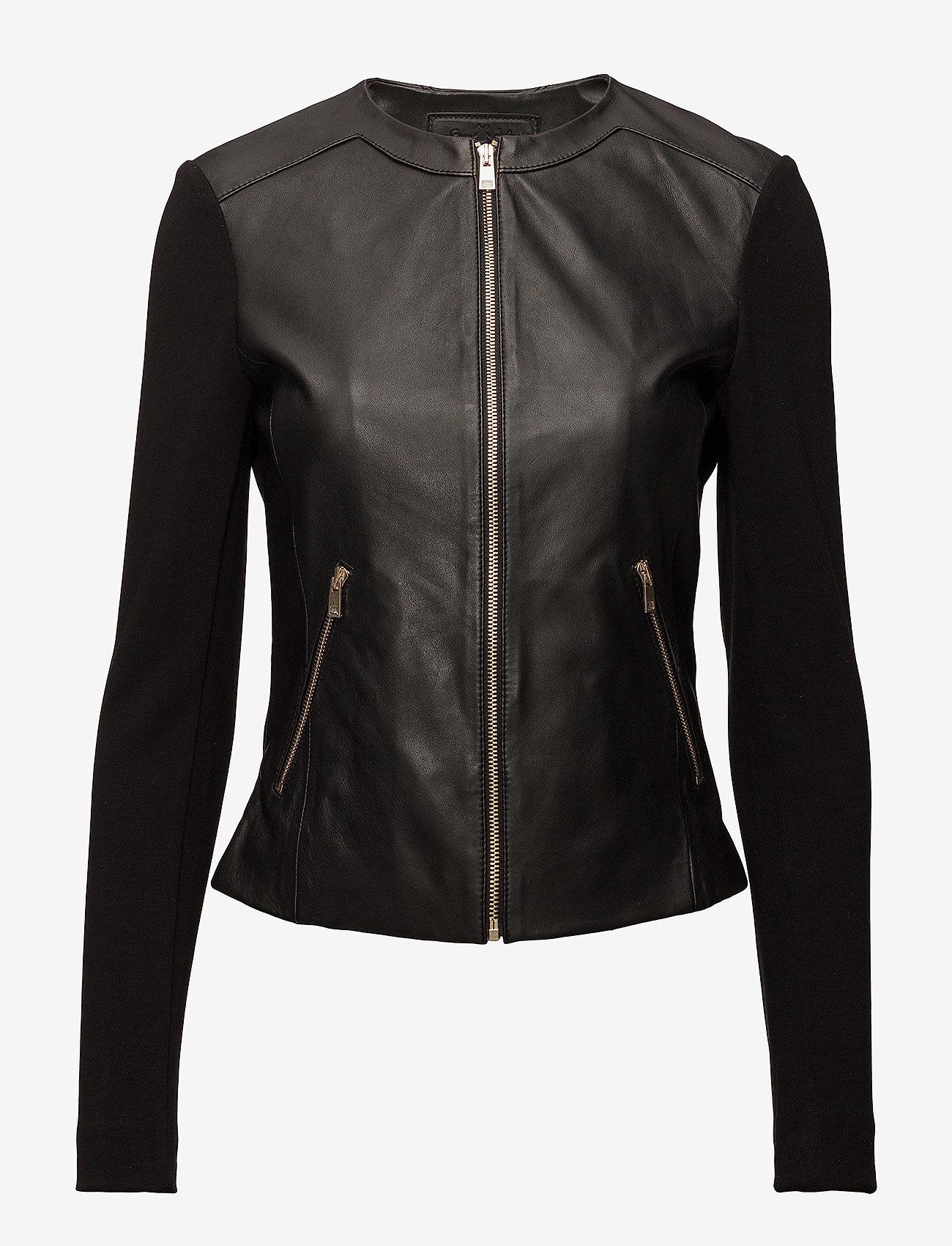 DEPECHE - Jacket - skinnjakker - black - 0