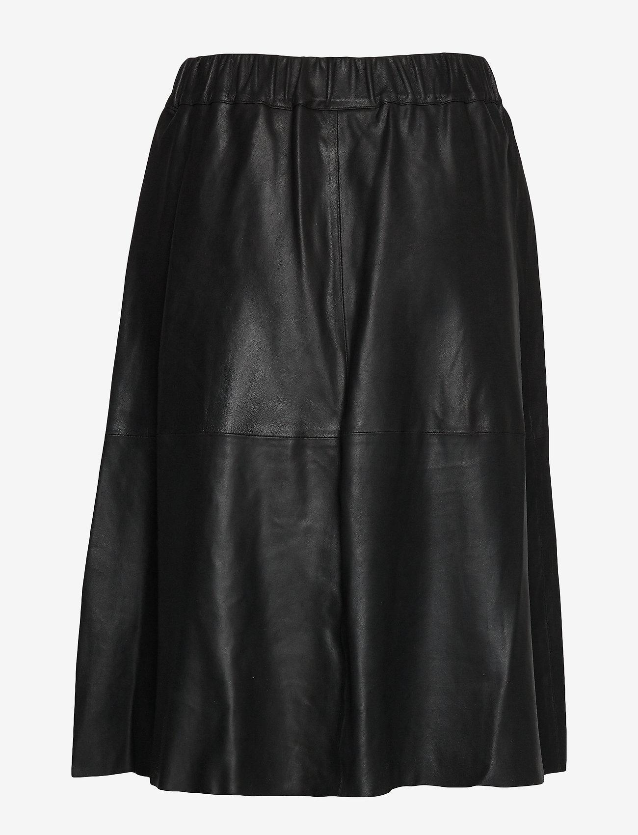 DEPECHE - Skirt - jupes midi - black - 1