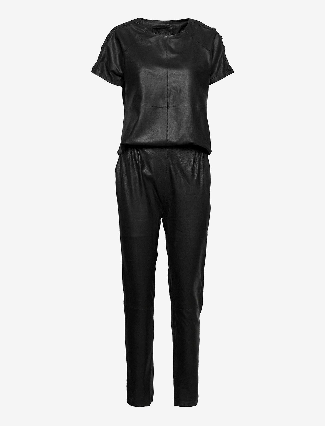 DEPECHE - Jumpsuit - jumpsuits - black - 0