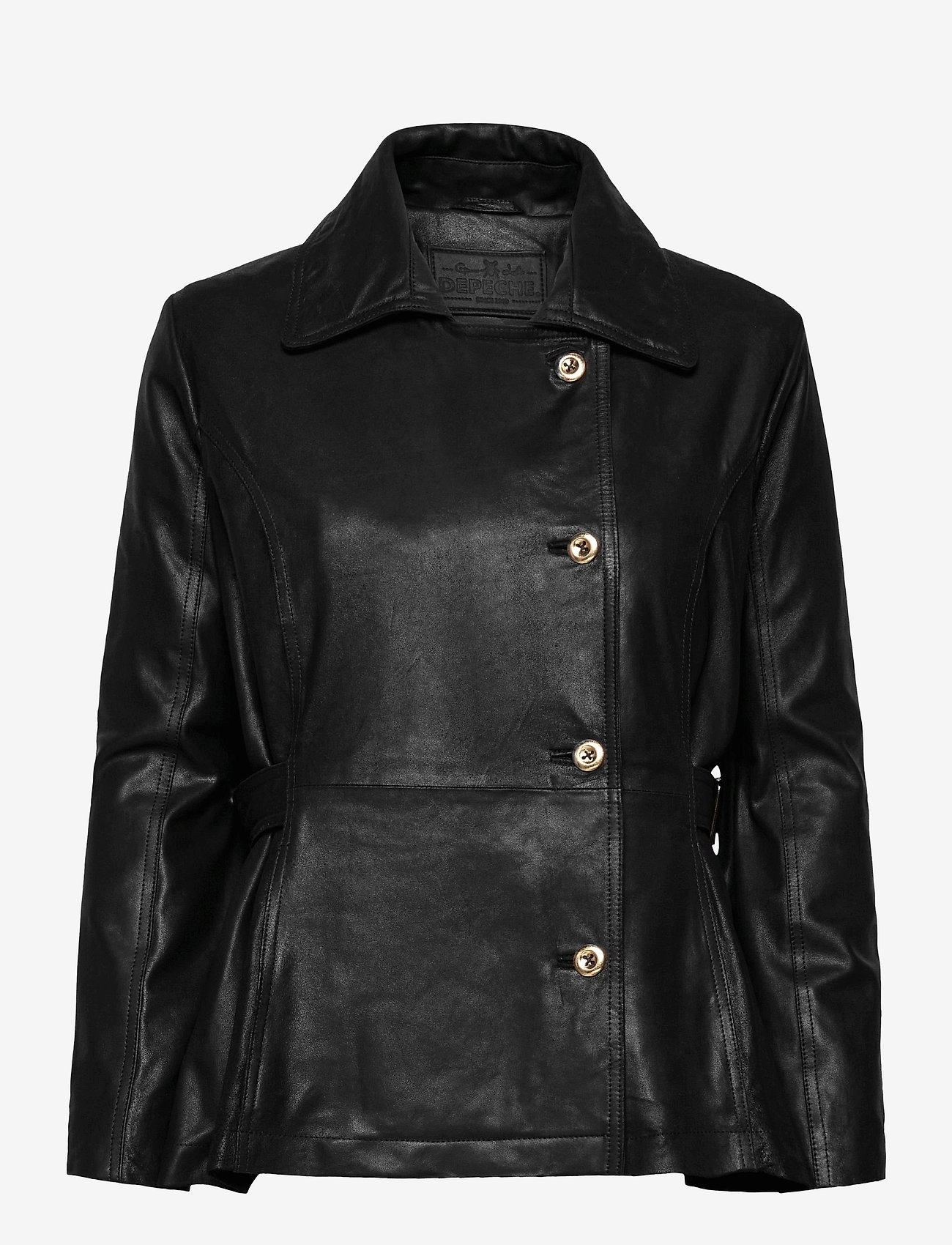 DEPECHE - Jacket - skinnjackor - black - 0