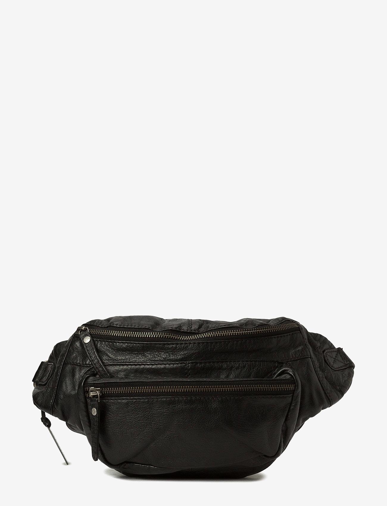 DEPECHE - Bum bag B10355 - jostas somas - black - 0