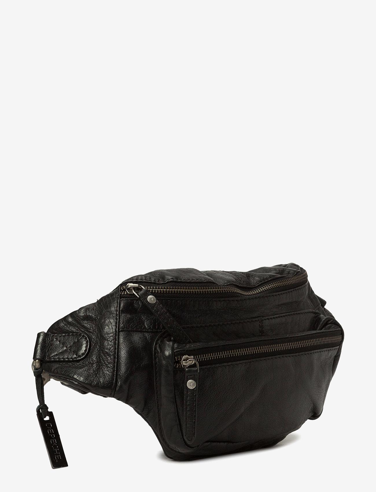 DEPECHE - Bum bag B10355 - jostas somas - black - 1