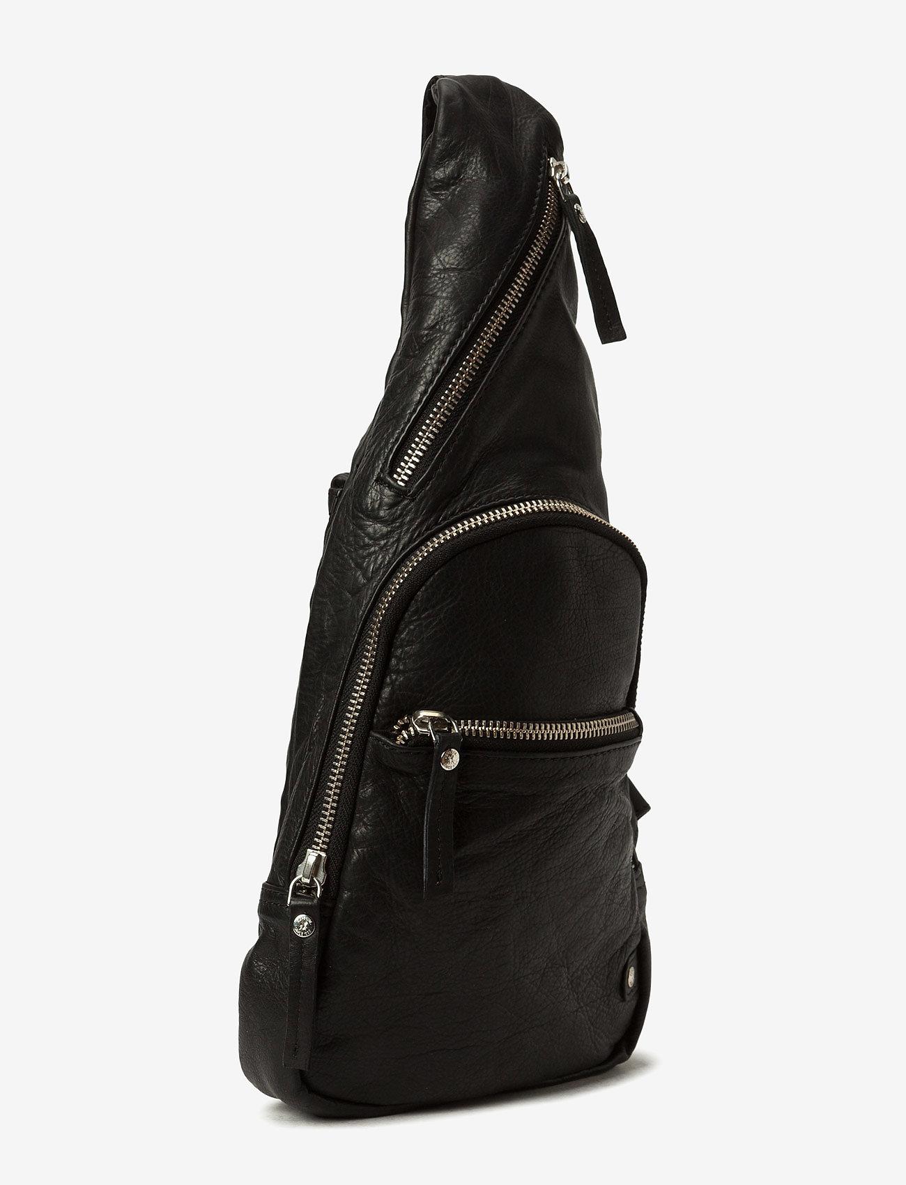 DEPECHE - Bum bag - mugursomas - black - 1