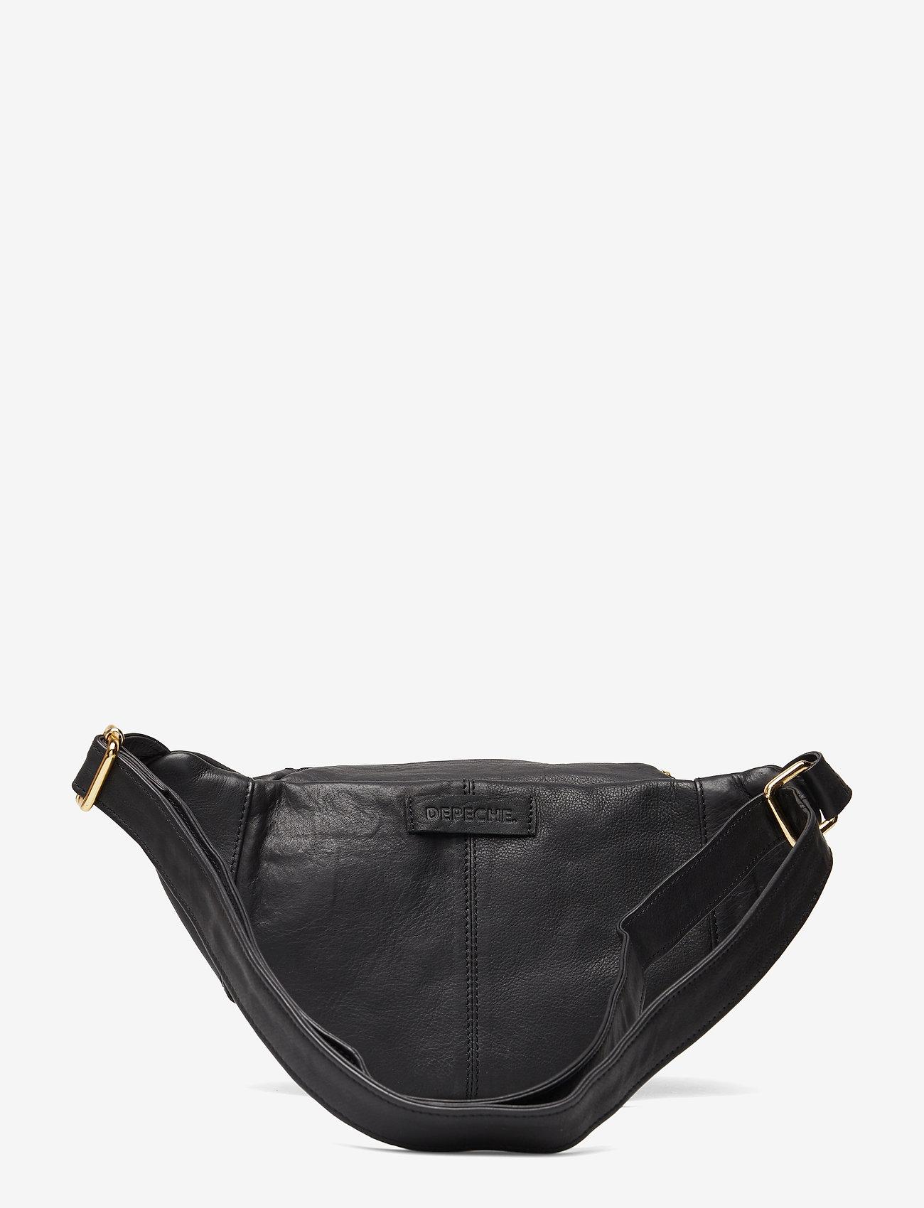 DEPECHE - Bum Bag - bæltetasker - black - 1