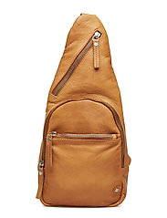 Fashion Favourites bum bag - COGNAC