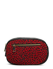 Belt bag - RED LEOPARD