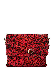 Small bag / Clutch - RED LEOPARD