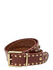 Jeans belt - 014 COGNAC