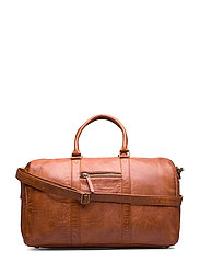 Weekend bag - VINTAGE COGNAC