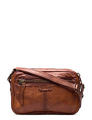 Small bag / Clutch - VINTAGE COGNAC