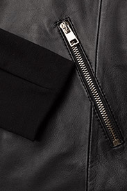 DEPECHE - Jacket - skinnjakker - black - 3