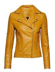 Biker jacket - 060 YELLOW