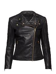 Jacket w/studs - 097 GOLD (PLATINO)