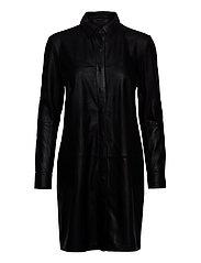 Long shirt - BLACK