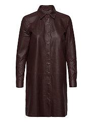 Long shirt - BORDEAUX