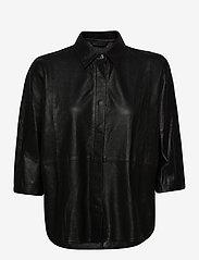 DEPECHE - Shirt - overshirts - black - 0