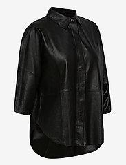 DEPECHE - Shirt - overshirts - black - 3