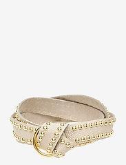 DEPECHE - Jeans belt - riemen - 011 sand - 0