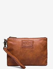 DEPECHE - Cosmetic bag - clutches - 005 vintage cognac - 0