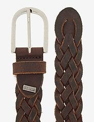 DEPECHE - Jeans belt - riemen - brown - 1