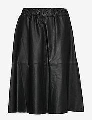 DEPECHE - Skirt - jupes midi - black - 0