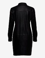DEPECHE - Long shirt - robes courtes - black - 1