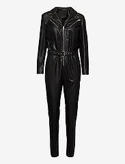 DEPECHE - Jumpsuit - jumpsuits - 099 black (nero) - 0