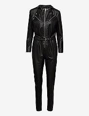 DEPECHE - Jumpsuit - jumpsuits - 099 black (nero) - 2