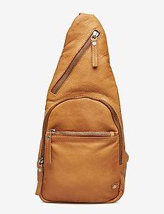 Fashion Favourites bum bag - magväskor - cognac