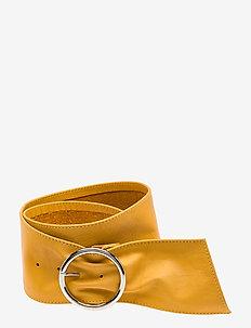 Wide belt - bælter - 060 yellow