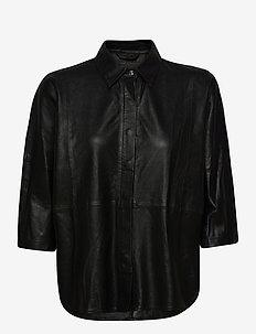 Shirt - päällyspaidat - black