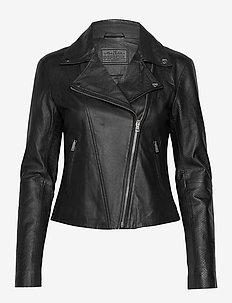 Biker jacket - BLACK SNAKE