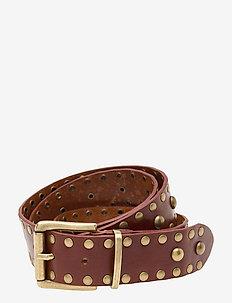 Jeans belt - paski - 014 cognac