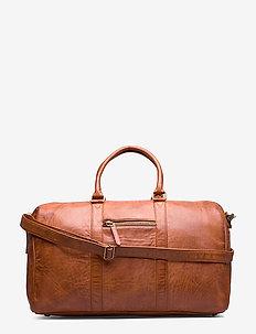 Weekend bag - VINTAGE COGNAC