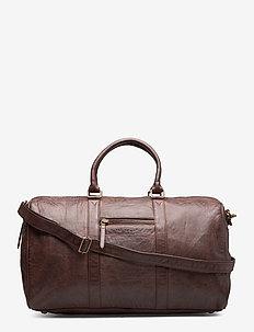 Weekend bag - weekend & gym väskor - winter brown