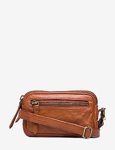 Small bag / Clutch - VINTAGE COGNAC