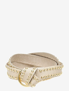 Jeans belt - belts - 011 sand