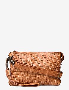 Small bag / Clutch - kuvertväskor - 014 cognac