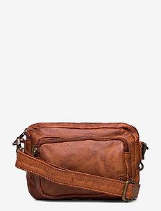 Small bag / Clutch - kuvertväskor - 005 vintage cognac