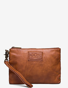 Cosmetic bag - clutches - 005 vintage cognac