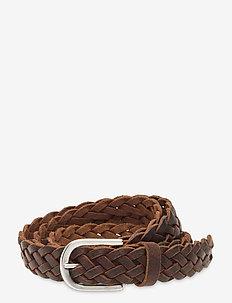 Jeans belt - bælter - brown
