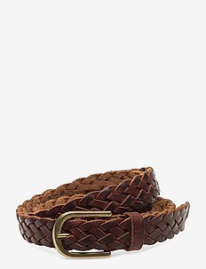 Jeans belt - ceintures - cognac