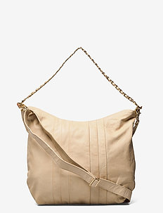 Medium bag - schoudertassen - sand.