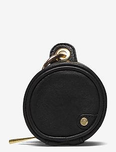 Mini bag - nøgleringe - black