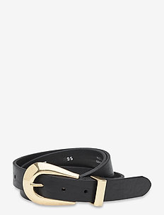 Jeans belt - skärp - black