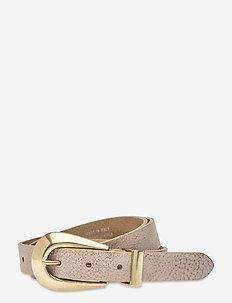 Jeans belt - skärp - sand.