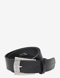 Jeans belt - bælter - black