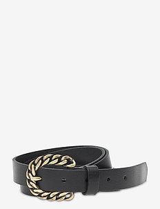 Jeans belt - skärp - black